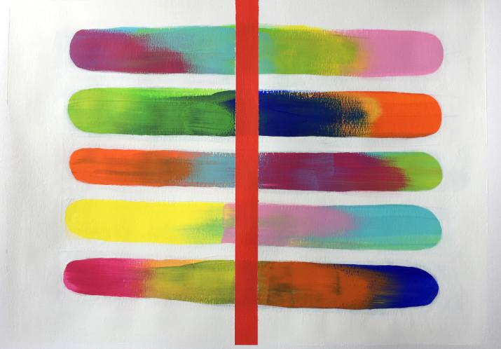 #62 «ARBEITSPROBEN 2015-2017»; Ausstellung von ANTJE GRACIA, Künstlerin