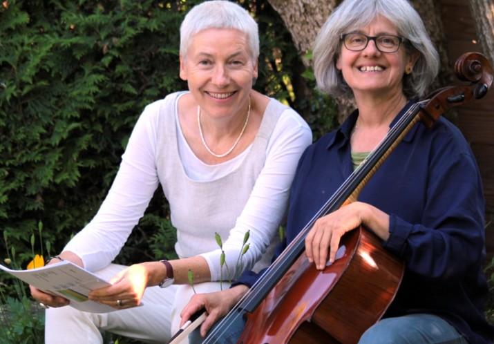 #56 «TEXTE & TÖNE»: BRIGITTE MEYER (Cello) und CHRISTINE FISCHER (Texte)