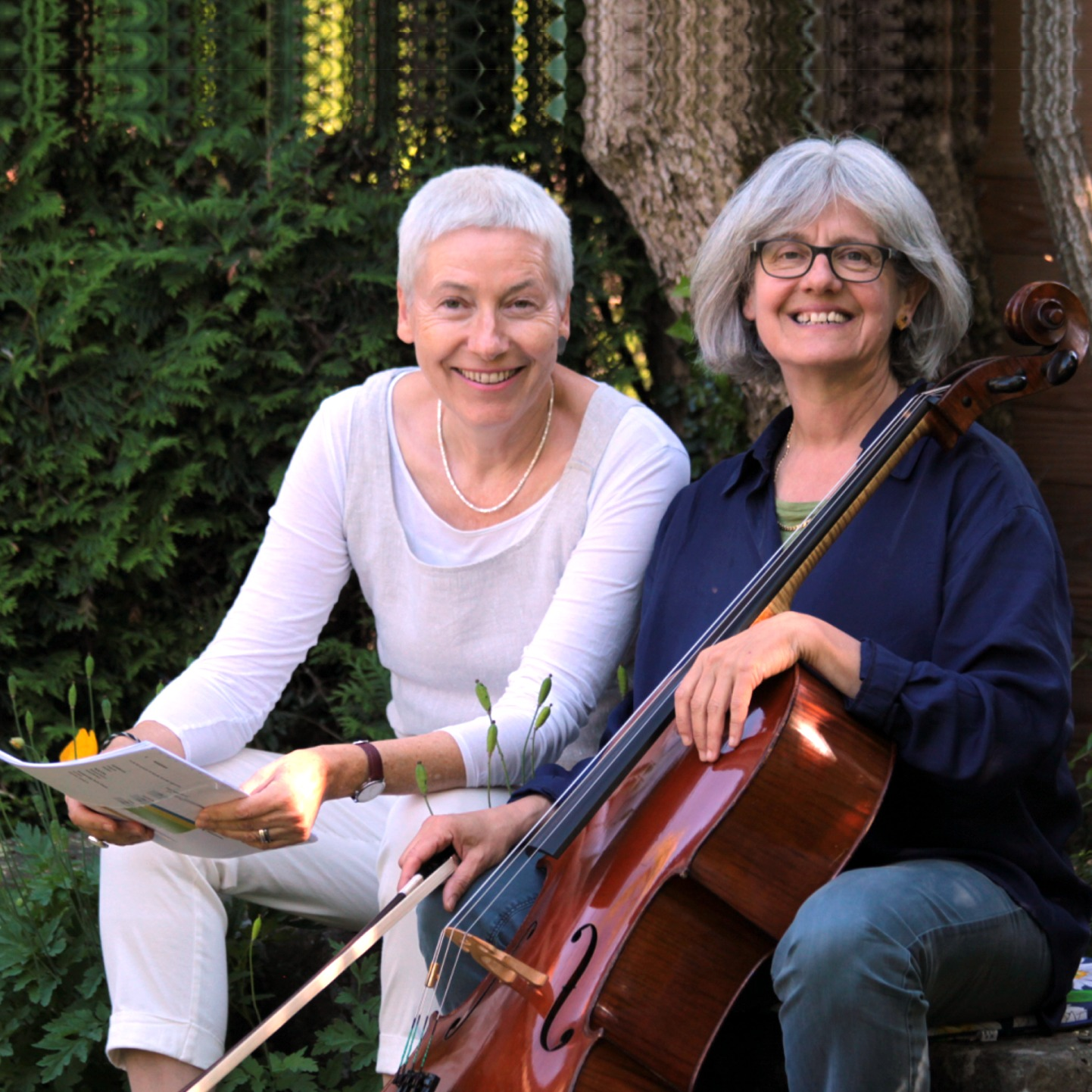 #56 «TEXT & TÖNE»: BRIGITTE MEYER (Cello) und CHRISTINE FISCHER (Texte)