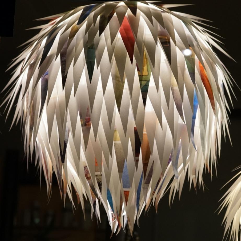 #39 LAMPENFIEBER; Ausstellung von Sandra Zimmerli, freischaffende Gestalterin