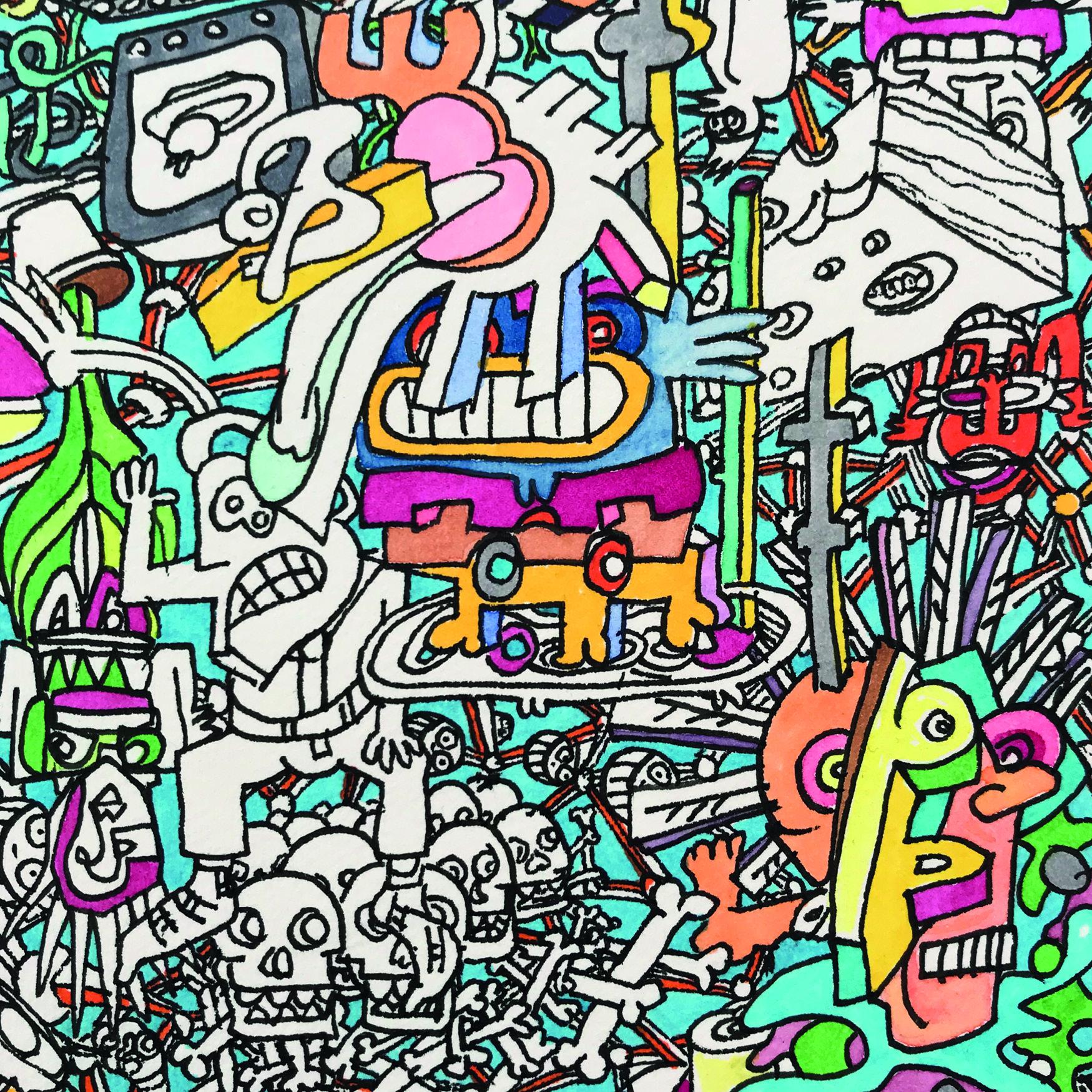 #81 JAN-PIET GRAF – Werke auf Papier