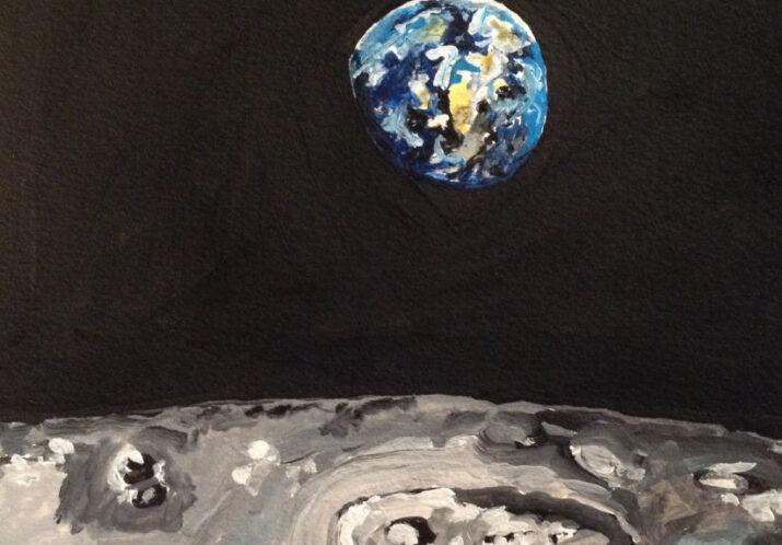 #104 «WELT-ALL» – Ausstellung von BENNO MEIER, Kunstmaler