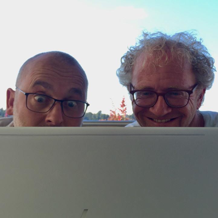 #116 Neue Unterhaltungsliteratur aus der Ostschweiz von und mit MARTIN OESCH und RALPH WEIBEL